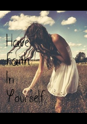 Have Faith In Yourself - Personalised Poster A1 size