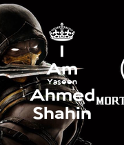 I Am Yaseen Ahmed Shahin - Personalised Poster A1 size