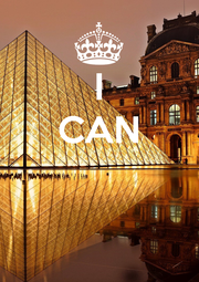 I CAN    - Personalised Poster A1 size