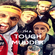 I'M A TOUGH MUDDER - Personalised Poster A4 size