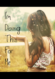 I'm Doing This For Me - Personalised Poster A1 size