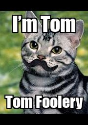 I'm Tom Tom Foolery - Personalised Poster A4 size