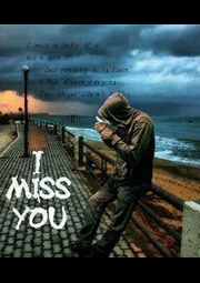 I miss u baby 4f u  kis k hain ???,     Bas tumhary hi to Hain,, Us k Yeh Alfaazz,jhotay to         - Personalised Poster A4 size