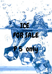 ICE  FOR SALE  P 5  only  - Personalised Poster A1 size