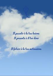 Il passato è la tua lezione Il presente è il tuo dono  Il futuro è la tua motivazione  - Personalised Poster A1 size