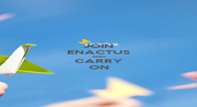 JOIN ENACTUS AND CARRY ON - Personalised Poster A4 size