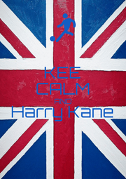 KEE CALM AND Harry Kane  - Personalised Poster A1 size