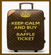 KEEP CALM AND BUY A RAFFLE TICKET - Personalised Poster A1 size