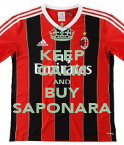 KEEP CALM AND BUY SAPONARA - Personalised Poster A1 size