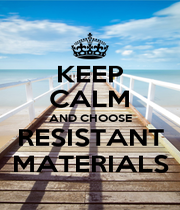 KEEP CALM AND CHOOSE RESISTANT MATERIALS - Personalised Poster A1 size