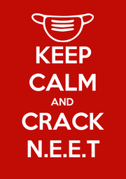 KEEP CALM AND CRACK N.E.E.T - Personalised Poster A1 size