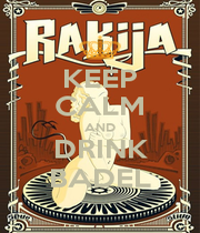 KEEP CALM AND DRINK BADEL - Personalised Poster A1 size