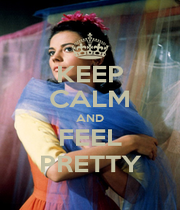 KEEP CALM AND FEEL PRETTY - Personalised Poster A1 size