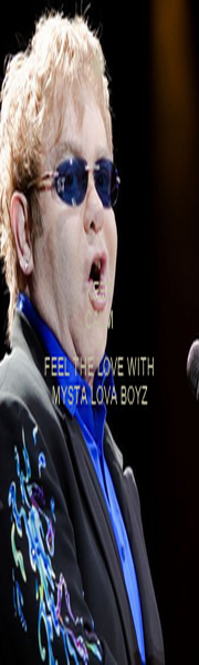 KEEP CALM AND FEEL THE LOVE WITH MYSTA LOVA BOYZ - Personalised Poster A1 size