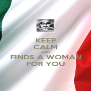 KEEP CALM AND FINDS A WOMAN FOR YOU - Personalised Poster A4 size