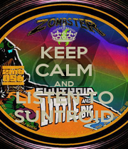 KEEP CALM AND LISTEN TO SUNTROID - Personalised Poster A1 size