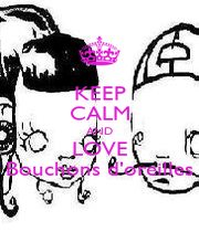 KEEP CALM AND LOVE Bouchons d'oreilles - Personalised Poster A4 size