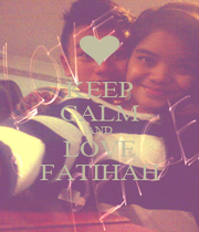 KEEP CALM AND LOVE FATIHAH - Personalised Poster A1 size