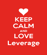 KEEP CALM AND LOVE Leverage - Personalised Poster A1 size