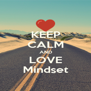 KEEP CALM AND LOVE Mindset - Personalised Poster A1 size