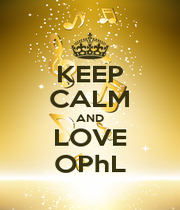 KEEP CALM AND LOVE OPhL - Personalised Poster A4 size