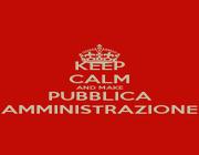KEEP CALM AND MAKE PUBBLICA AMMINISTRAZIONE - Personalised Poster A1 size