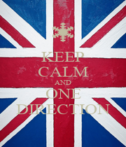 KEEP CALM AND ONE DIRECTION - Personalised Poster A1 size