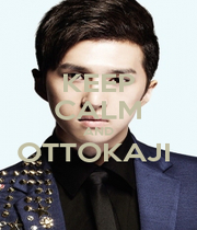KEEP CALM AND OTTOKAJI   - Personalised Poster A1 size