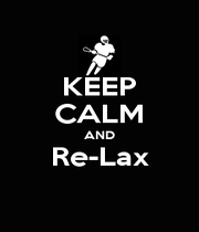 KEEP CALM AND Re-Lax  - Personalised Poster A1 size
