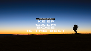 KEEP CALM AND SAY BOSE IS THE BEST - Personalised Poster A4 size