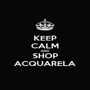 KEEP CALM AND SHOP ACQUARELA - Personalised Poster A1 size