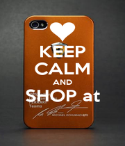 KEEP CALM AND SHOP at  - Personalised Poster A4 size