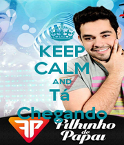 KEEP CALM AND Tá  Chegando - Personalised Poster A4 size