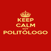 KEEP CALM SOY POLITÓLOGO  - Personalised Poster A4 size