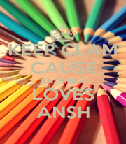KEEP CLAM CAUSE RASHMIKA LOVES ANSH - Personalised Poster A1 size