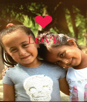 LOVE     - Personalised Poster A4 size