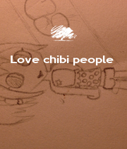 Love chibi people      - Personalised Poster A4 size