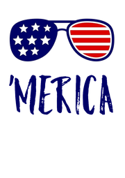 'MERICA - Personalised Poster A4 size