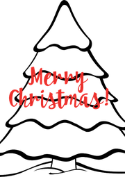 Merry  Christmas! - Personalised Poster A4 size