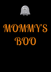 MOMMY'S BOO   - Personalised Poster A4 size