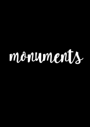 monuments  - Personalised Poster A1 size
