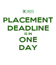 PLACEMENT DEADLINE IS IN ONE DAY - Personalised Poster A1 size