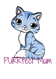 PURRfect Mum - Personalised Poster A4 size