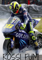 ROSSI FUMI - Personalised Poster A4 size