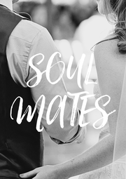 SOUL MATES - Personalised Poster A4 size