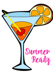 Summer Ready   - Personalised Poster A4 size