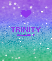TRINITY ELIZABETH   - Personalised Poster A1 size