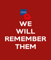 WE WILL  REMEMBER THEM - Personalised Poster A1 size