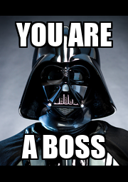 YOU ARE A BOSS - Personalised Poster A4 size