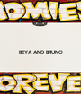 BEYA AND BRUNO   - Personalised Poster A1 size